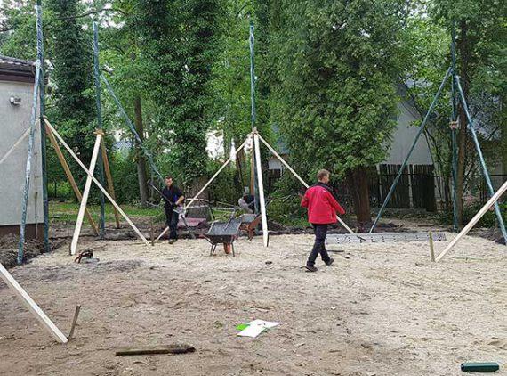 Budowa boiska szkolnego