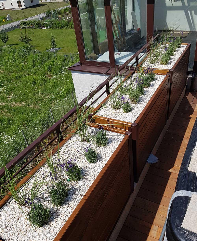 Ogrody na dachu
