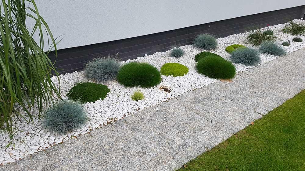 ogrody nowoczesne przydomowe